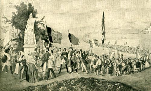 1860: Garibaldi e i piemontesi invadono la Sicilia percorrendo le strade delle quali negavano l'esistenza!