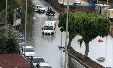 Palermo, ieri quattro gocce di pioggia e bye-bye sottopassaggi della Circonvallazione e via Imera...