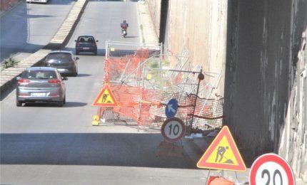 I lavori del sottopassaggio di via Crispi? Aspettando Godot (o un incidente...)PALERMO-CITTA' 57