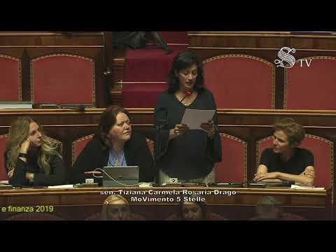 Equità fiscale e Riscossione Sicilia: la senatrice Tiziana Drago a Roma difende la nostra Isola (VIDEO)