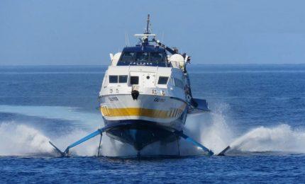 L'aliscafo Calypso della Liberty Lines danneggiato da un'onda. Che succederà?