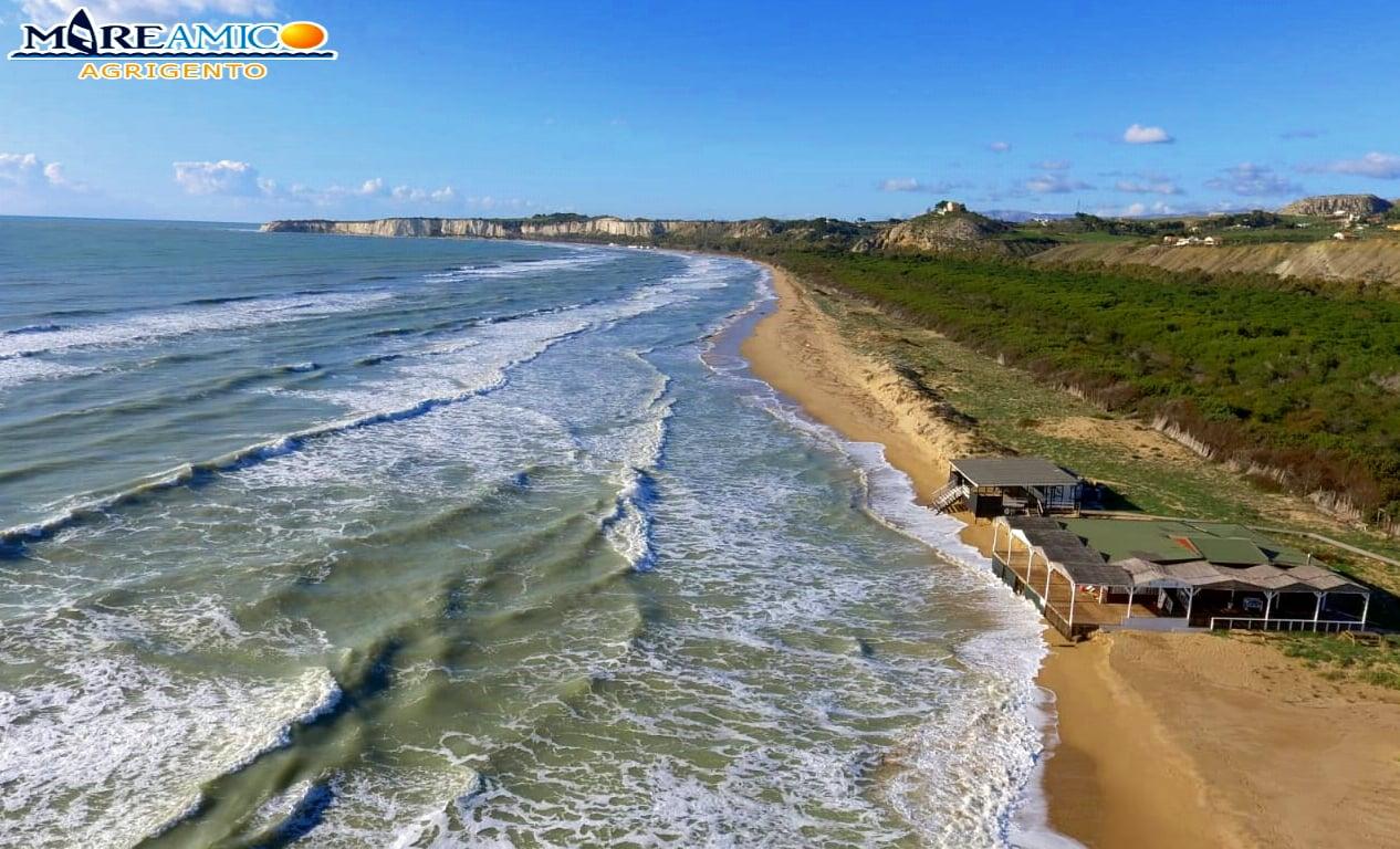Dopo la spiaggia di Eraclea Minoa l'erosione si mangia' anche le dune di Bovo Marina (sei foto impressionanti!)