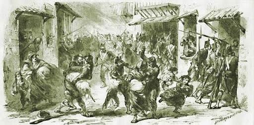 La repressione in Sicilia dopo la rivolta del 1866: fucilazioni di massa e religiosi arrestati