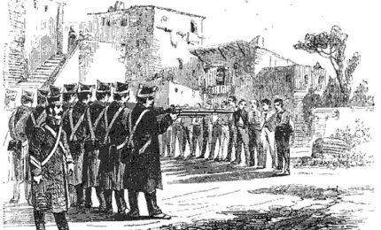 Gennaio-Ottobre 1861: tra Sud e Sicilia si contano 9.860 uomini fucilati dai piemontesi