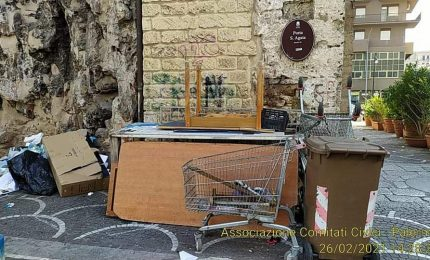 Porta Sant'Agata e munnizza: altro che percorso Arabo-Normanno!/ PALERMO-CITTA' 76