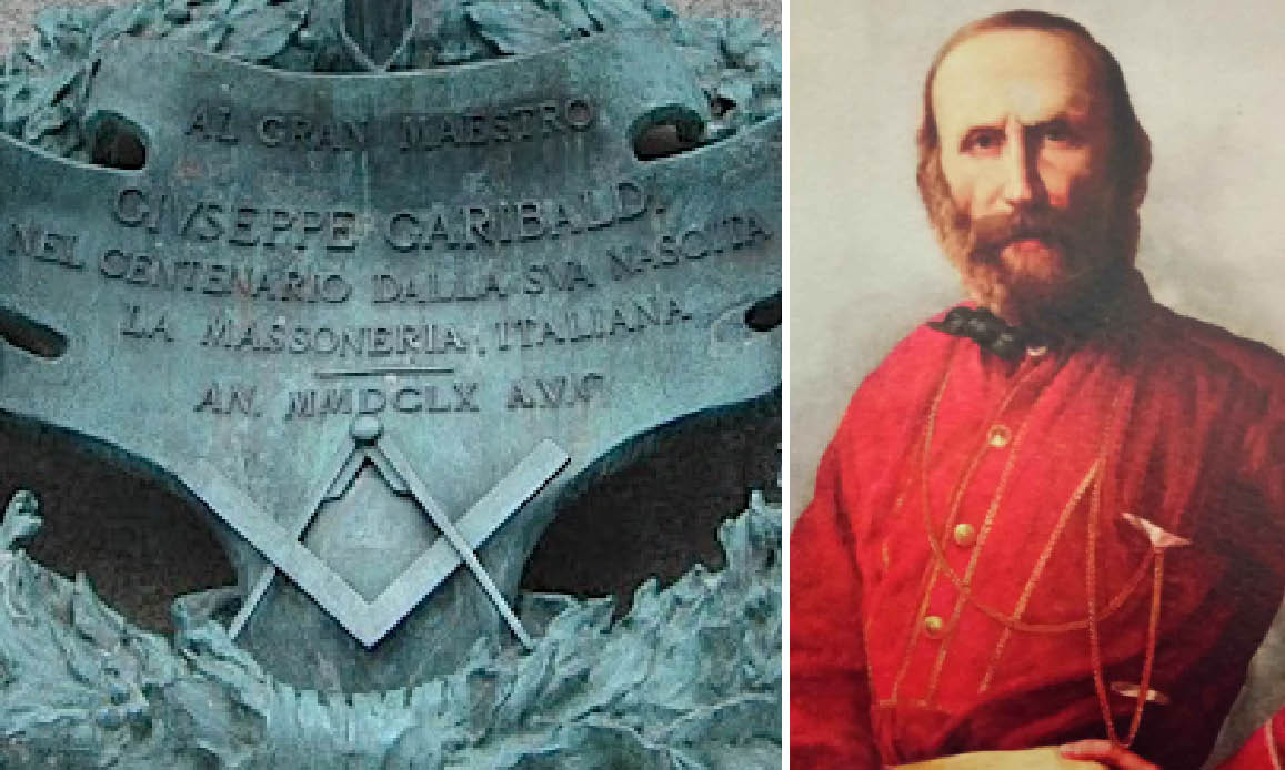 Giuseppe Garibaldi massone, una vita spesa per scristianizzare i popoli