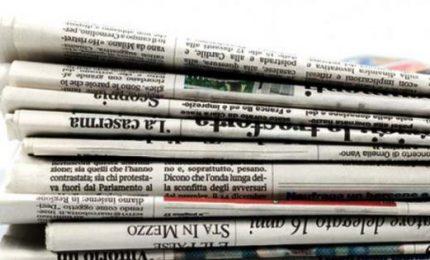 Rinviato al 2023 il taglio dei contributi ai giornali: altro impegno 'mantenuto' dai grillini...