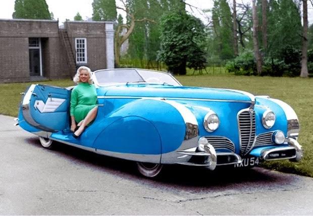 La Delahaye Type 175S Roadster del 1949, la più bella automobile del mondo!