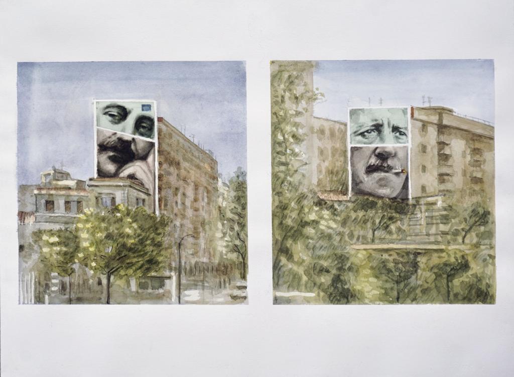 Murales dal forte valore simbolico a Palermo all'insegna della legalità