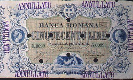 Gli scandali delle banche al tempo di Ciampi e Draghi e lo scandalo della Banca Romana vista da Luigi Pirandello
