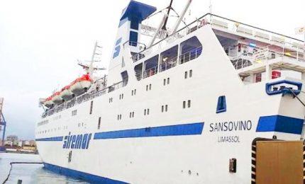 Denuncia dell'ORSA: trenta migranti positivi sulla nave Lampedusa-Porto Empedocle, infettato il personale di bordo