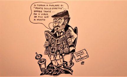 La vecchia politica siciliana non sa come trovare voti e rispolvera il Ponte sullo Stretto di Messina/ SERALE