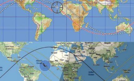 Frammenti di un razzo cinese in caduta libera verso la Terra. Dove cadranno? C'è chi non esclude il Sud Italia!