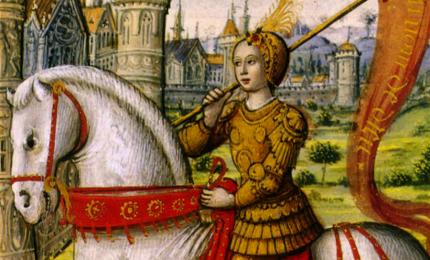 Se non fosse stata vergine Giovanna D'Arco potrebbe oggi essere una Santa Patrona della Francia?