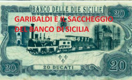 Con il denaro rubato ai siciliani Garibaldi paga mercenari, ufficiali Duosicilaini traditori e picciotti di mafia. Nasce l'Italia...