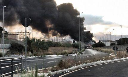 Incendio di munnizza tra Brancaccio e Villabate. E' stata prodotta diossina?/ PALERMO-CITTA' 87