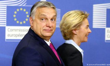 I farisei della Ue: attaccano l'Ungheria di Orban sui diritti sessuali e fanno affari con l'Arabia Saudita che perseguita gli omosessuali / MATTINALE 514
