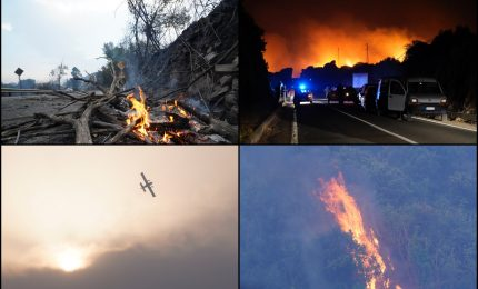 La Sardegna in fiamme. Una strategia criminale per distruggere l'Isola? Gli incendi nel mondo/ MATTINALE 536