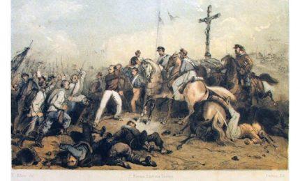 La battaglia di Trivio di Archi, quando un pugno di militari Duo Siciliani assestò un durissimo colpo a migliaia di Garibaldini