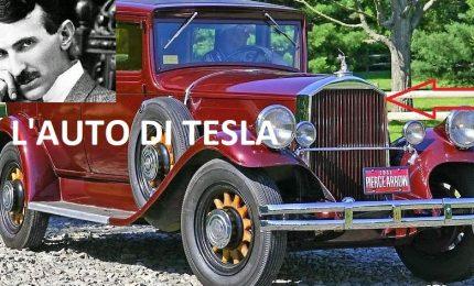 """Nikola Tesla e l'automobile spinta da una """"misteriosa radiazione"""" che arrivava dall'etere"""