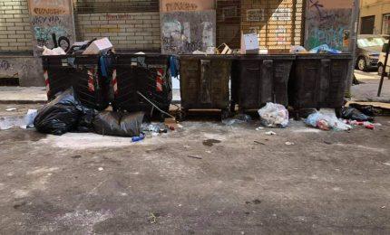 Via Napoli, immondizia a mai finire e strada ma pulita e sanificata. Una vergogna!/ PALERMO-CITTA 98